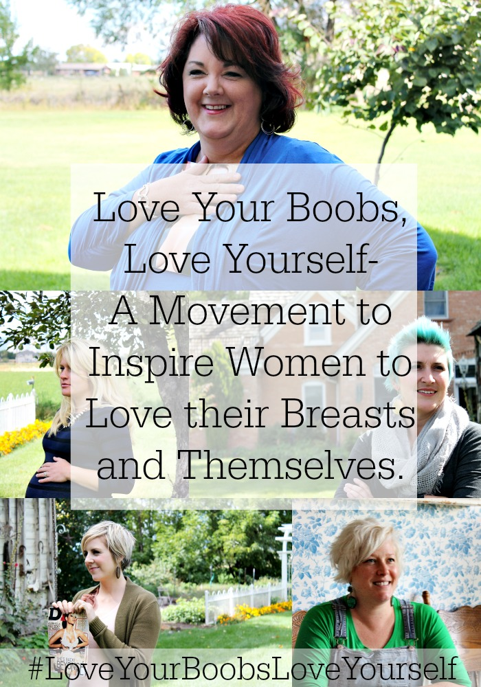I love you and your boobs