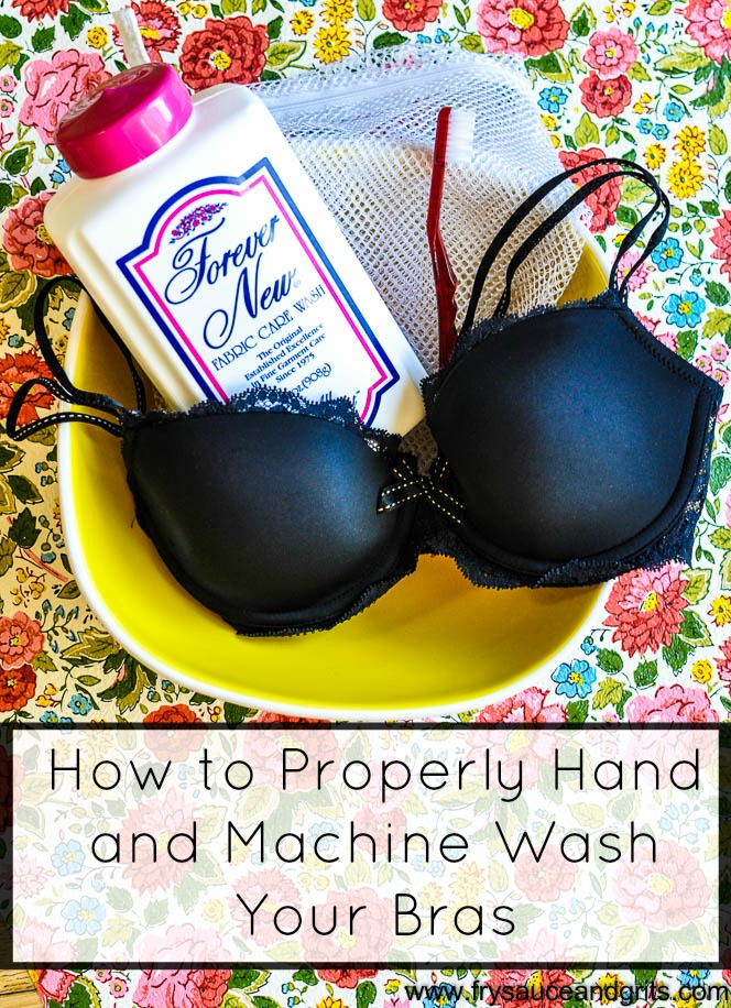 How to Properly Hand Wash and Machine Wash Your Bras Fry Sauce & Grits - FrySauceandGrits.com   (1 of 3