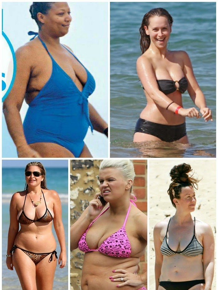 90283742d25 I love Queen Latifah, Jennifer, and Alanis, but all of these women could  benefit from a swimsuit makeover. So let's learn from our celebrity friends  of what ...