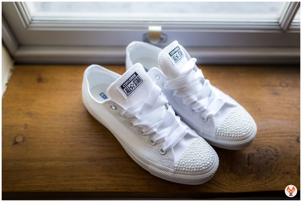 converse trainers for bridal shoes
