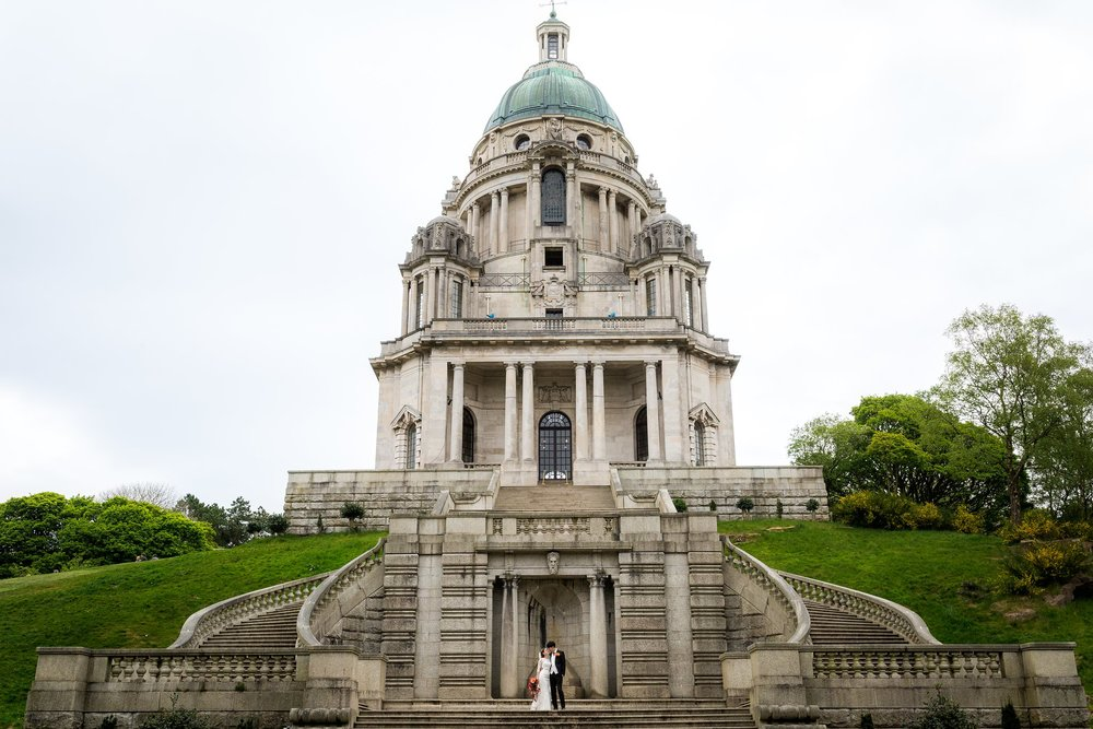 Beth & Paul - Ashton Memorial, Lancashire Wedding.
