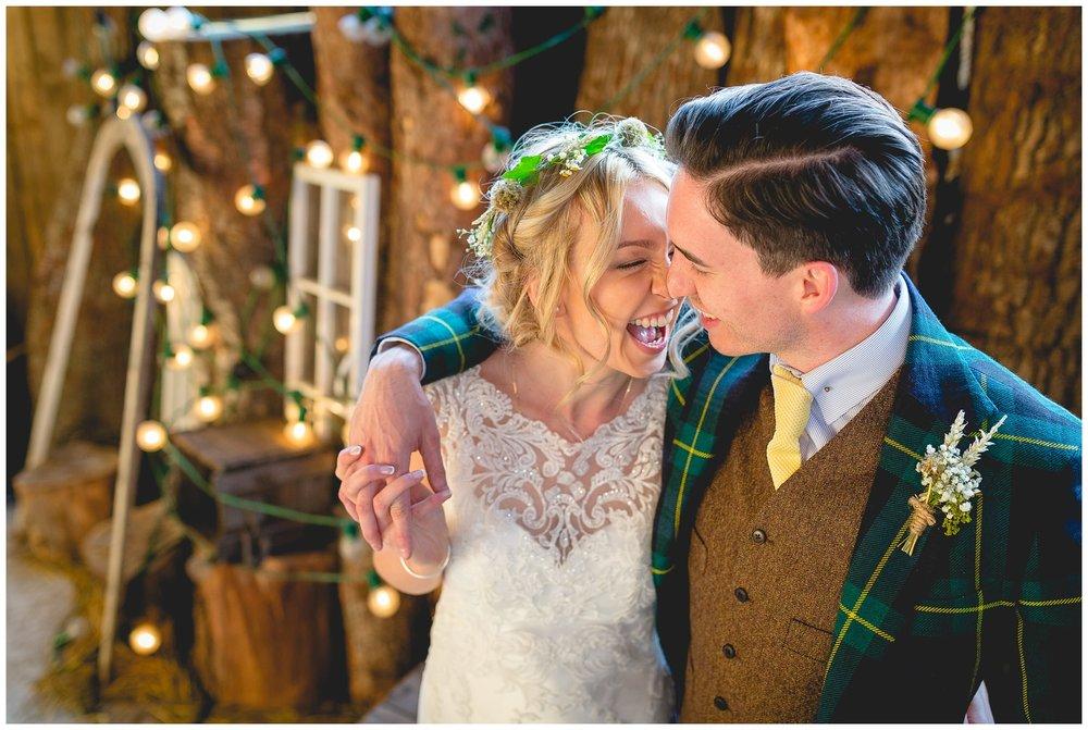 Rachael & Dan - Owen House Wedding Barn, Cheshire Wedding