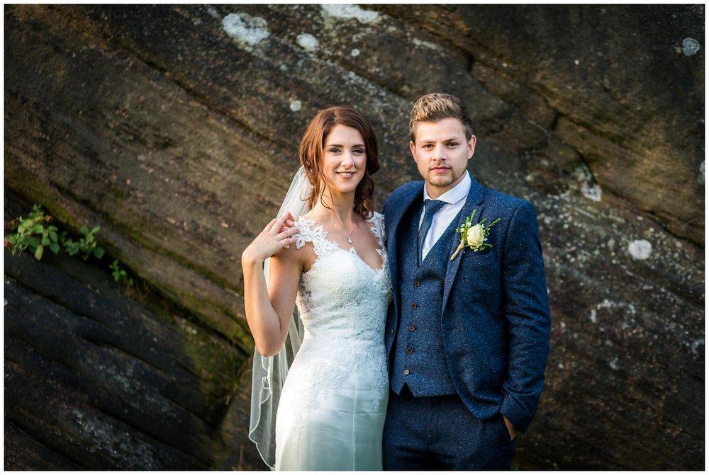 A super stylish wedding! -
