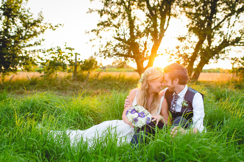 Antonia & Ben - Brook Farm, London Wedding.