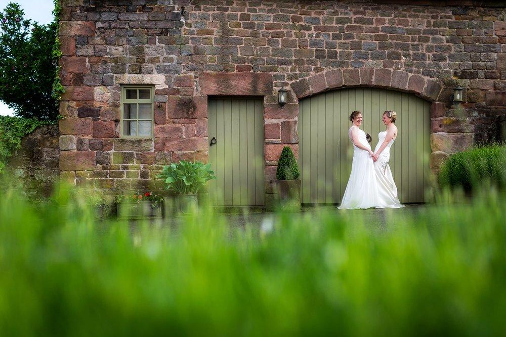 Louise & Lisa - The Ashes Wedding Barn,Staffordshire Wedding
