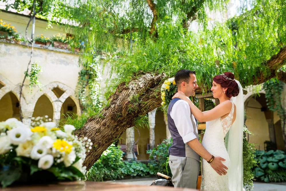 Sarah & Sam - Sorrento, Destination Wedding