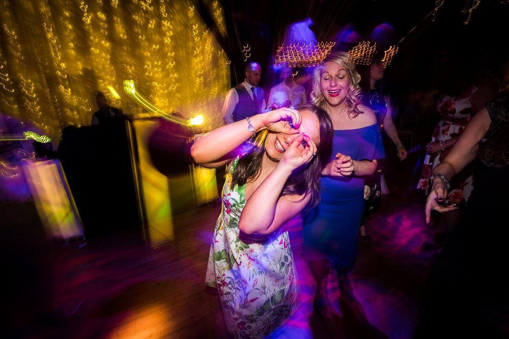 guest dancing on dance floor
