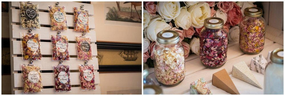 wedding suppliers stand