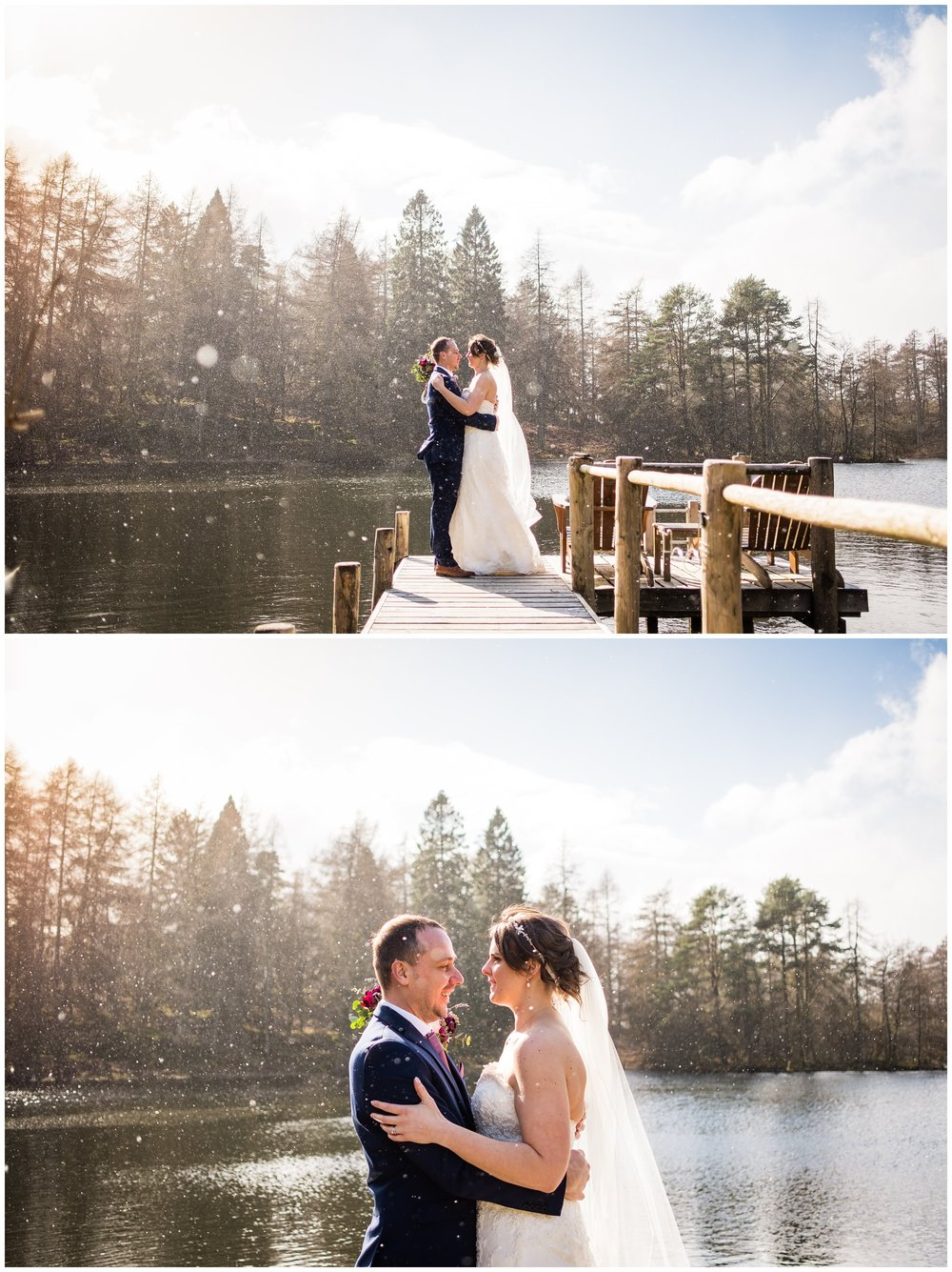 gilpin lake house wedding photographer