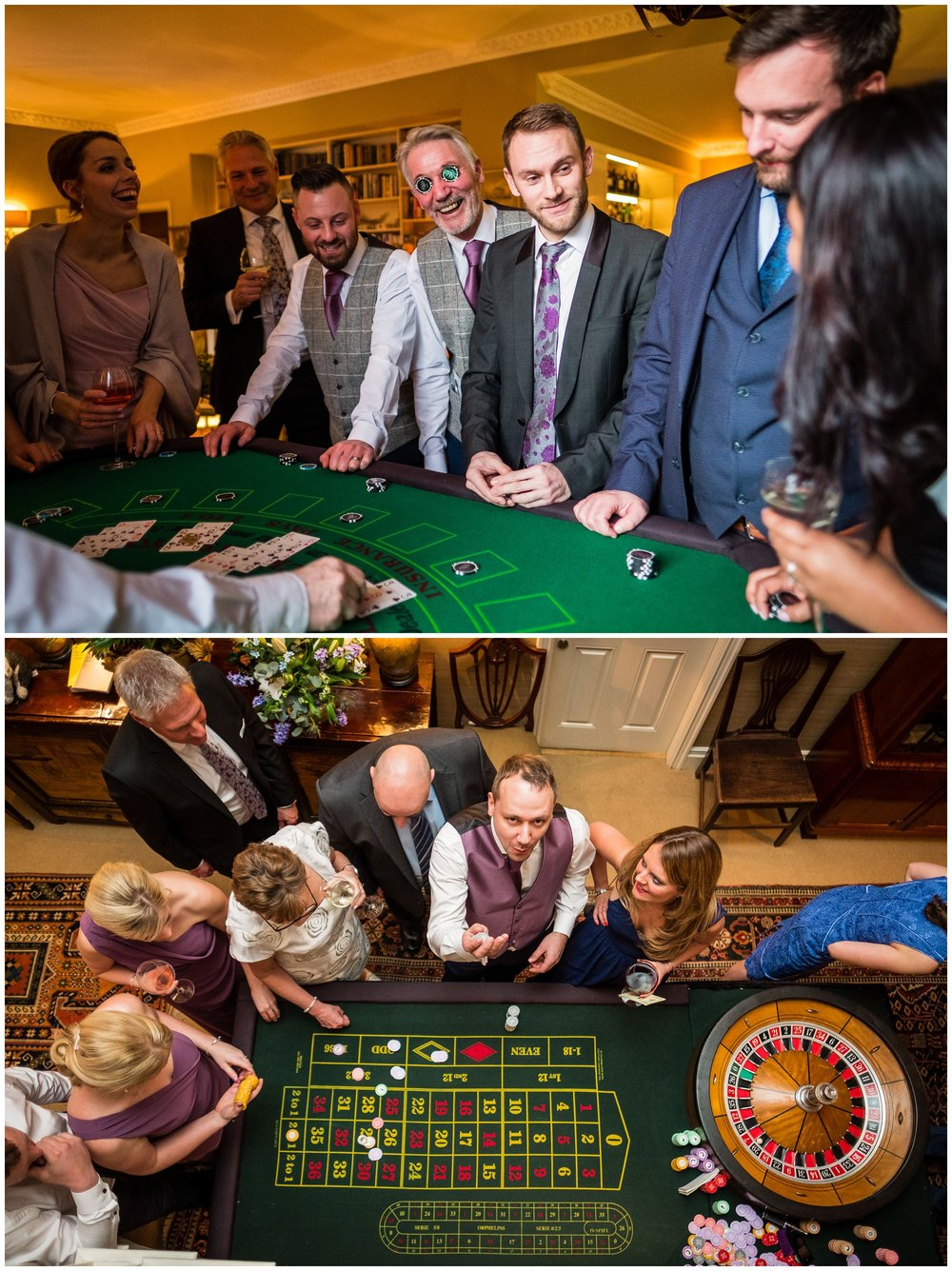 guests playing casino games