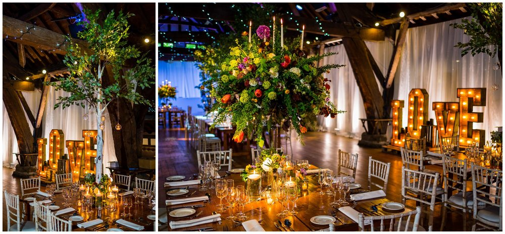 flowers by red floral at rivington barn