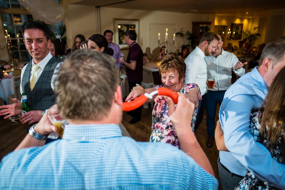 guests dancing to music at mitton hall, lancashire