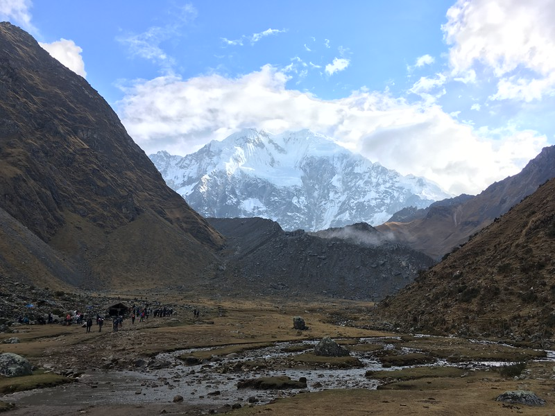 The trail to Salkantay Pass was like trekking into the Lord of the Rings