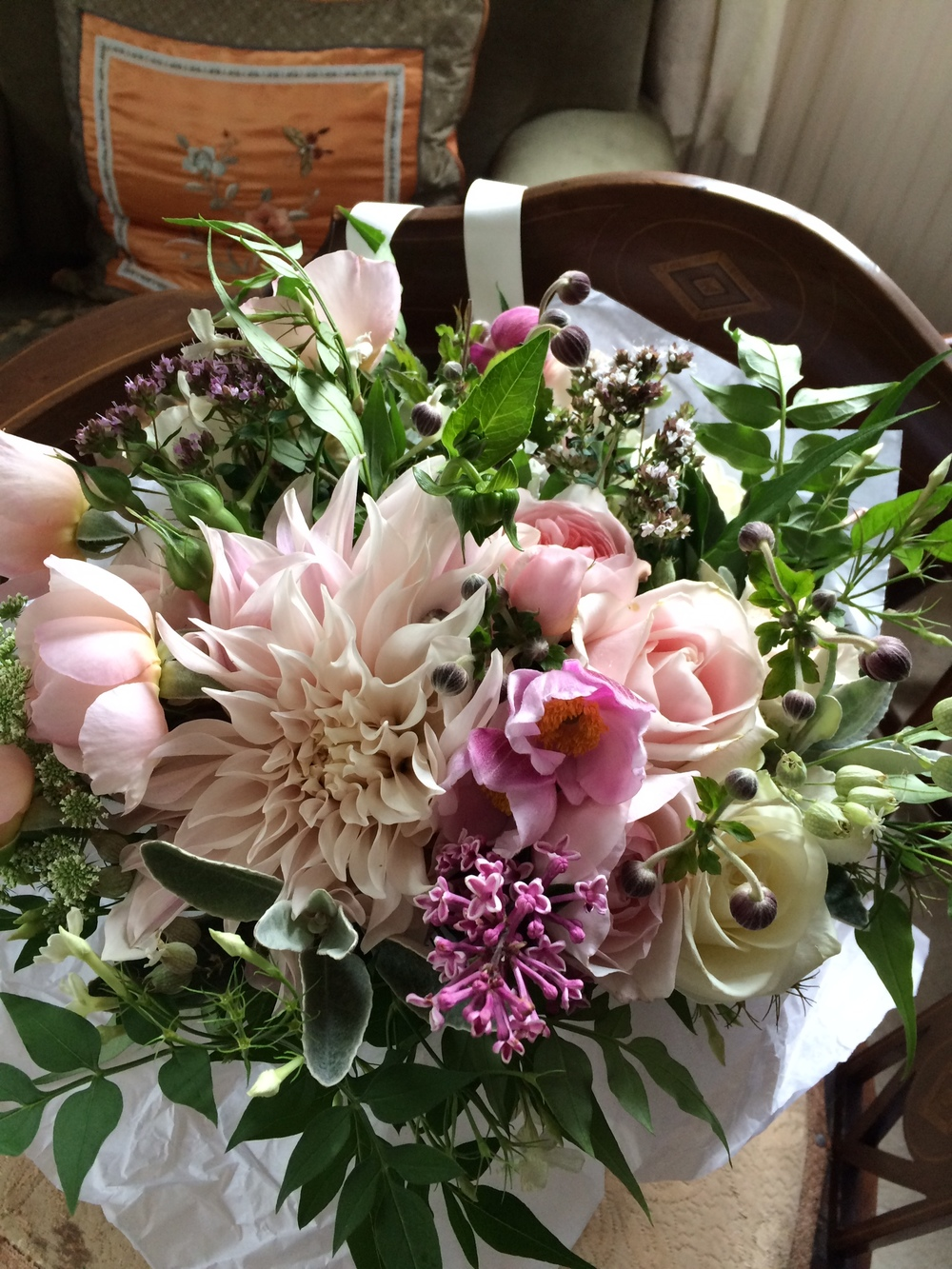 Claire's Bridal Bouquet