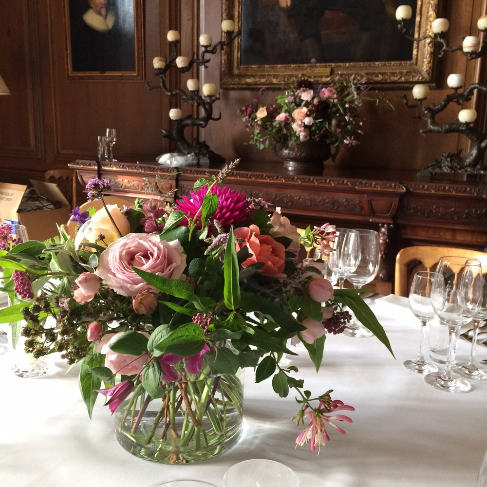 Summer table centres