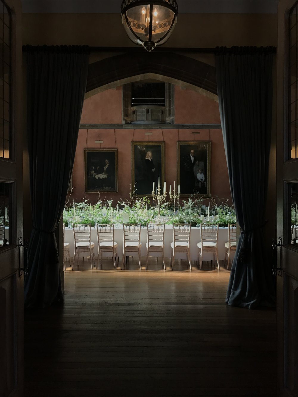 Wedding Flowers at Cowdray House Midhurst