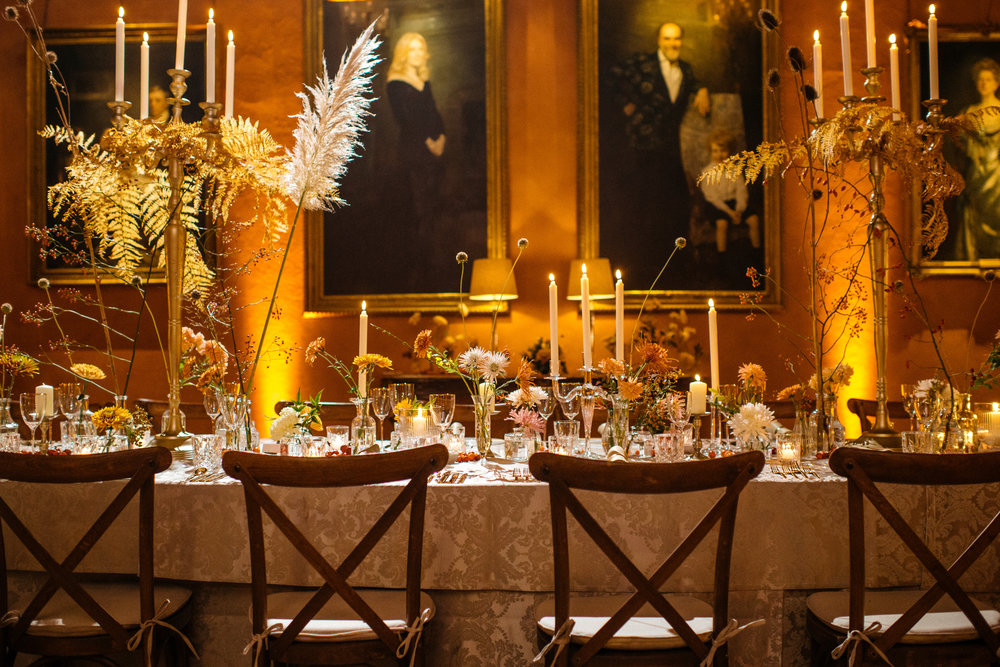 Cowdray House Autumn Dinner