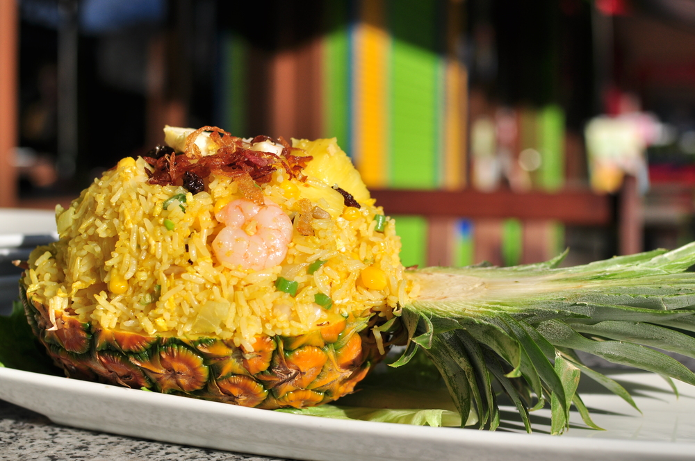 Pineapple Seafood Fried Rice
