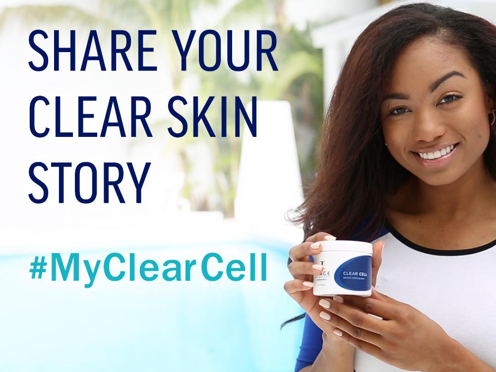 Clear Cell Clear Skin Social Media