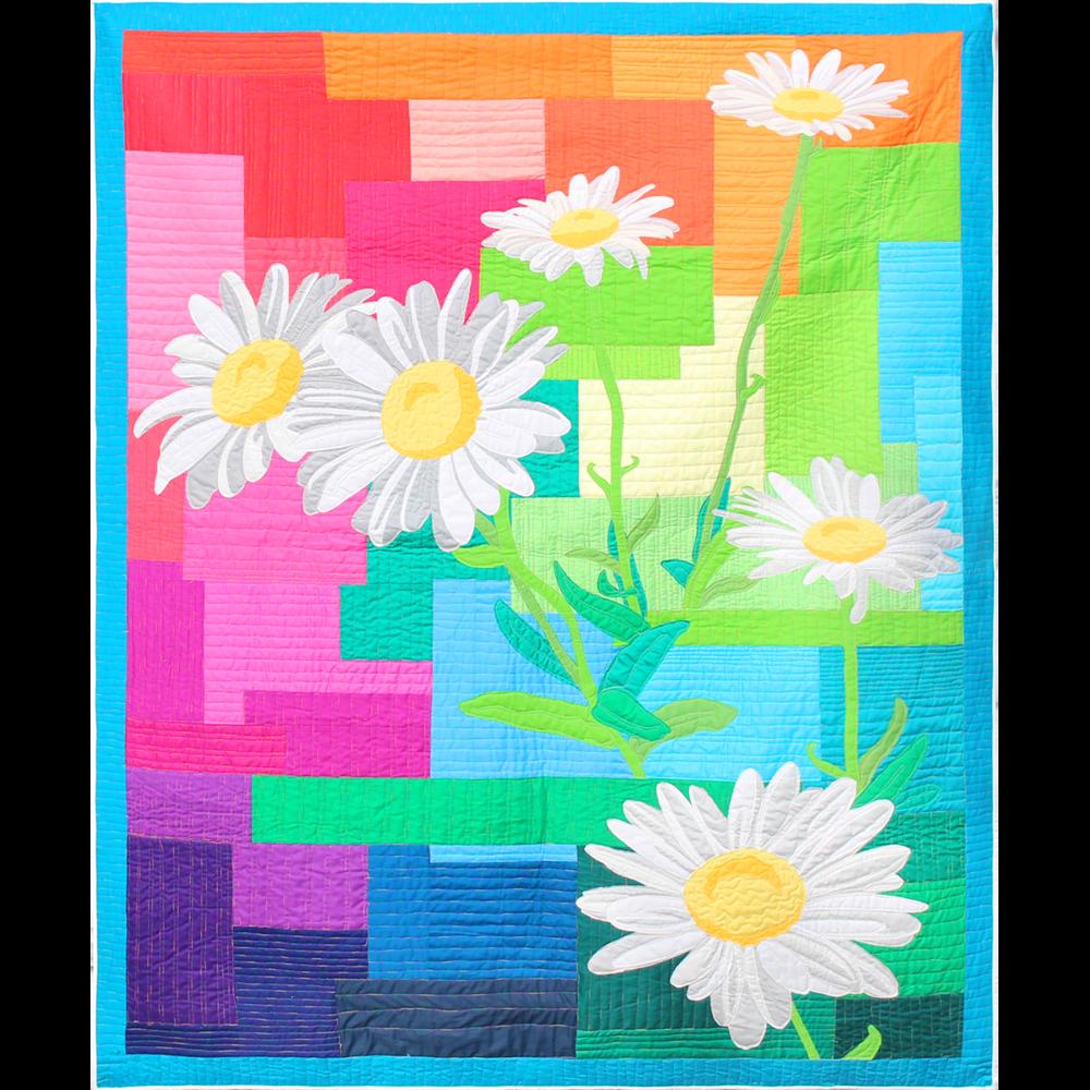 Daisy Daydream Rainbow Pattern
