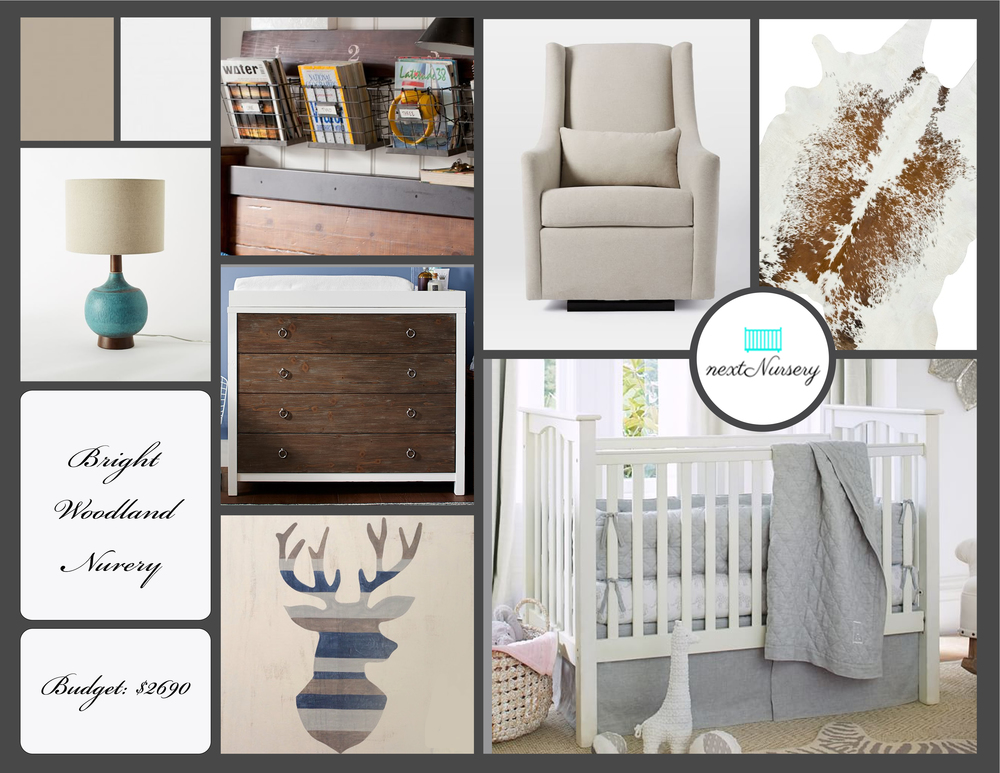 BRIGHT WOODLAND NURSERY Create a cozy woodland oasis for your new baby's arrival.  A room that you will want to retreat in any time of the day.