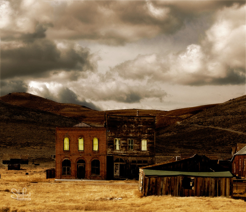 GHOST TOWN, BODIE