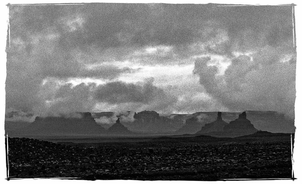 STORM OVER VALLEY OF THE GODS