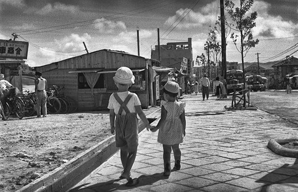 Photograph by Richard Stefani, taken in Sasebo Japan, 1952
