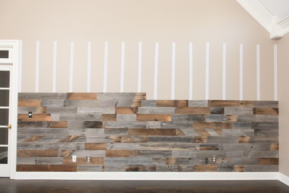 Artis Wall utilizes recycled wood products and a patented installation system. [photo: Artis Wall]