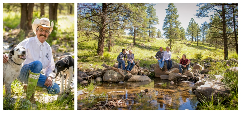 New Mexico Family Portrait Photography, Ranch Family,