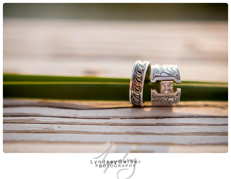 Cowboy Wedding Ring Shots