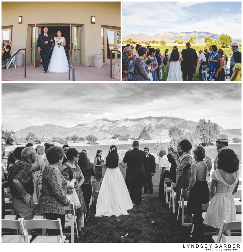 New Mexico Sandia Resort & Casino Wedding Photography by Lyndsey Garber Photography