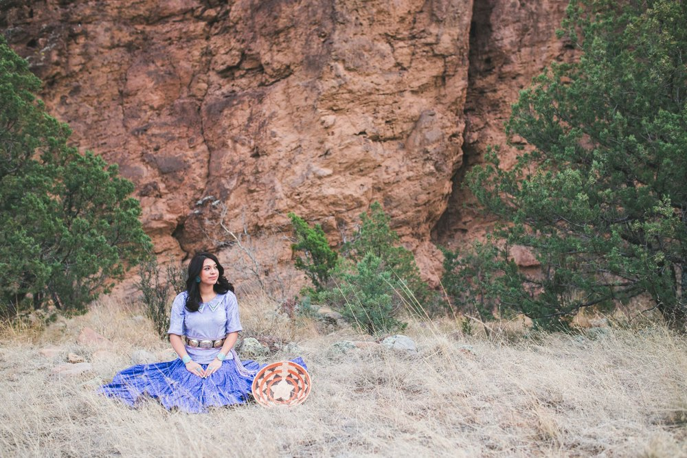 Southwest Senior Photography, Native American Senior, Magdalena New Mexico
