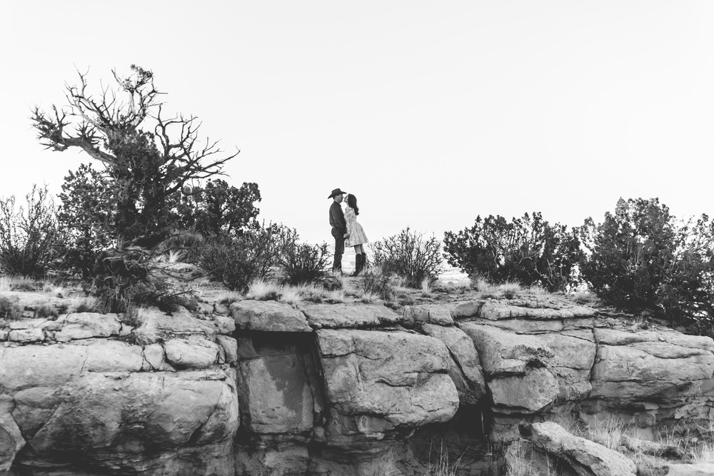 New Mexico Ranch Engagement Photography, Western, Cowboy, Southwest, Country