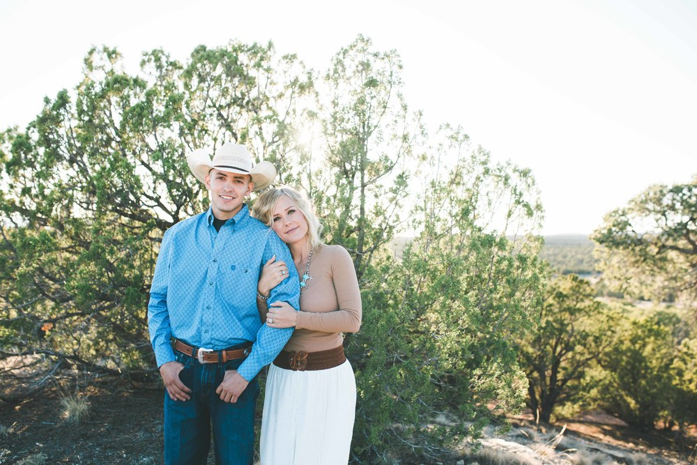 Abo Ruins New Mexico Engagement Photography