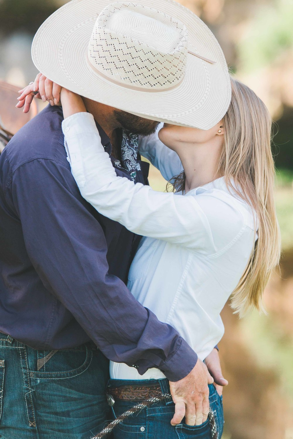 California Cowboy Engagement Photography, Ranch, Western, Rustic. Horse