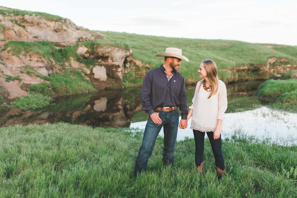 California Cowboy Engagement Photography, Ranch, Western, Rustic, Horse