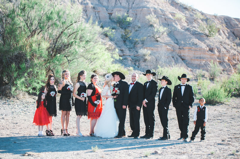 New Mexico Cowboy Wedding, Truth or Consequences, Western Wedding
