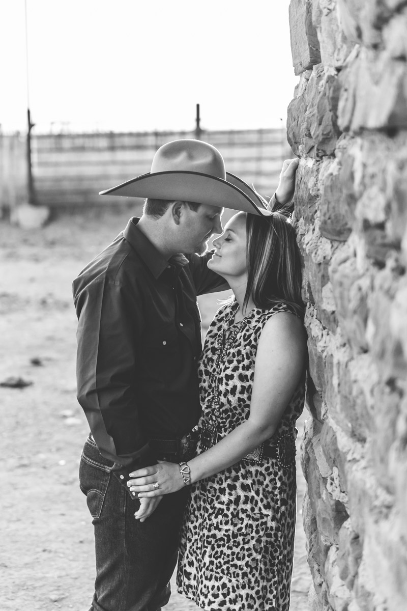Fort Sumner New Mexico Ranch Engagement Photography