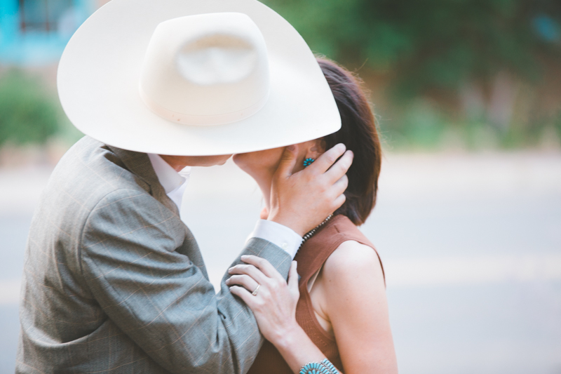 Santa Fe Destination Engagement Photography