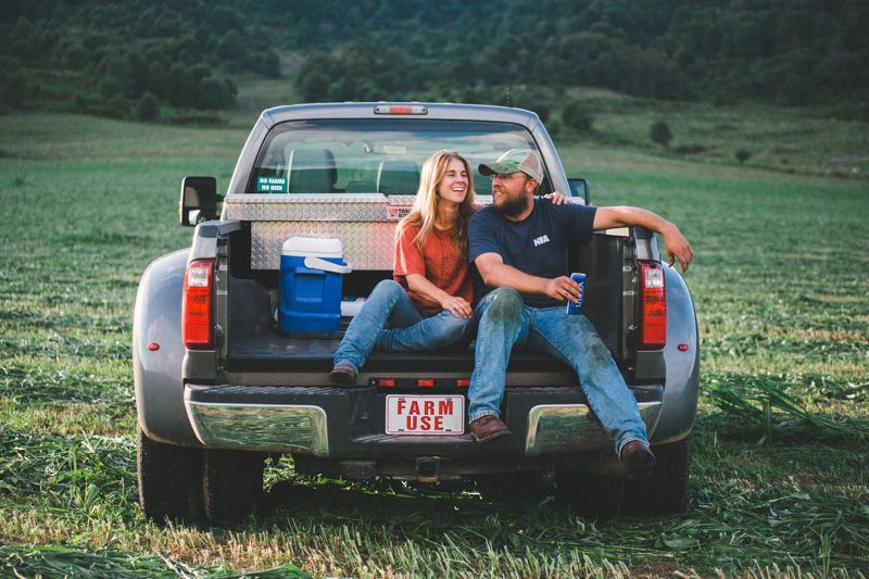 Virginia Country Engagement Photography | Josh & Audrey