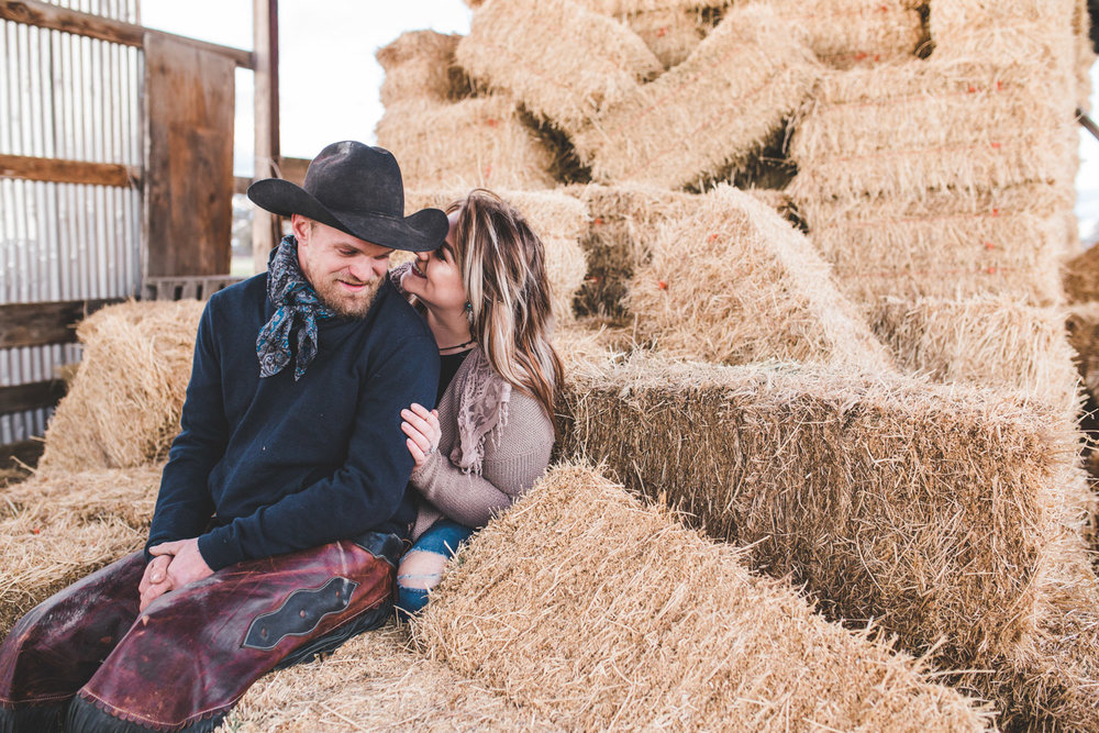 Oregon Ranch Engagement Photography
