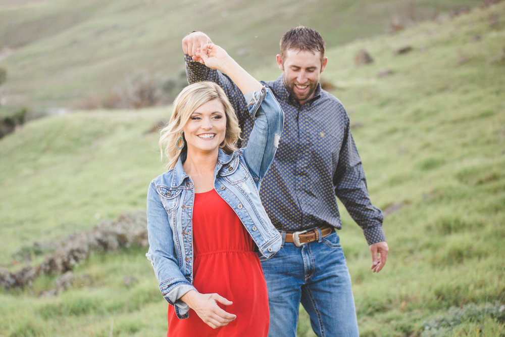 California Ranch Engagement Photography