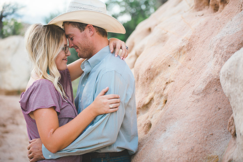 Santa Fe New Mexico Couple's Session | Christian & Taylor | Ranch, Western, Cowboy, Horse