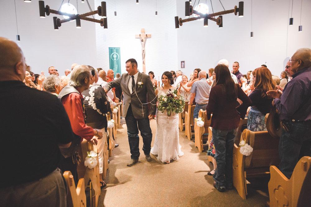 Durango Colorado Southwestern Wedding | Luke & Trista | Western, Cowboy, Rustic, Pendleton