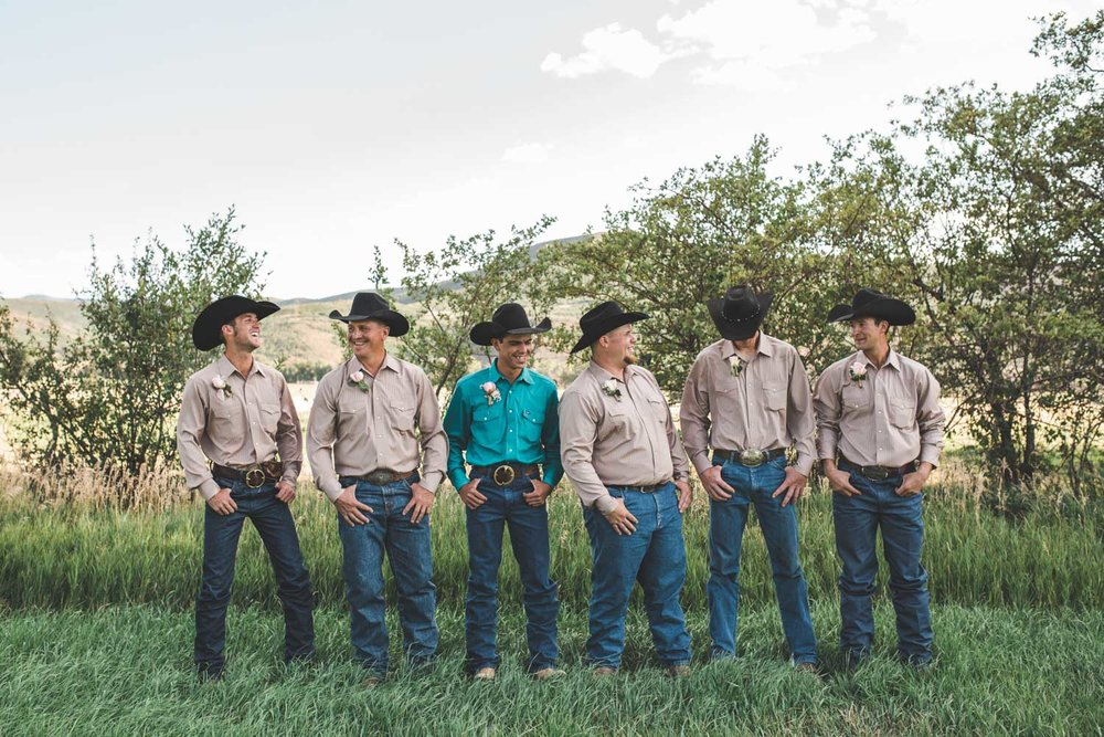 Colorado Ranch Wedding | Ricky & Alyssa | Western, Cowboy, Rustic, DIY
