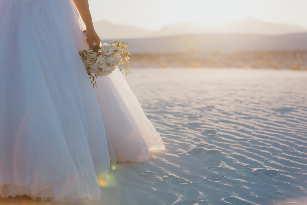 White Sands Honeymoon Session | White Sands National Monument | New Mexico Wedding Photographer