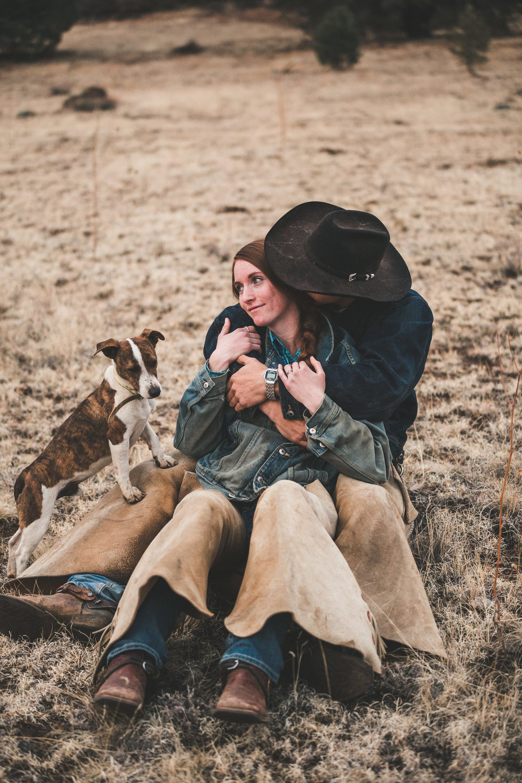 Arizona Ranch Engagement   Kole & Elizabeth   Payson, Arizona, Ranch, Engagement, Couple Photography, Western, Horse, Cowboy