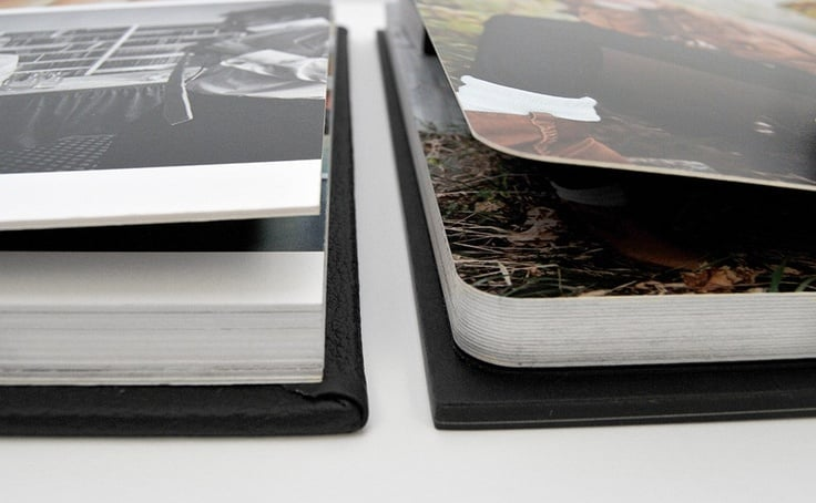 ++ Storybook Album (Medium) - 10x10 flush mounted coffee table book with 30 thick pages and lay-flat binding! This album is a grand presentation, modern heirloom.  Choose your favorite images and we will do the rest to design and create your wedding storybook.