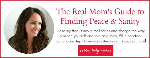 real mom's guide to finding peace and sanity